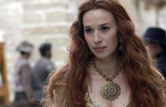 Angélica de Alquézar é Elena Anaya, atriz e amante de Alatriste