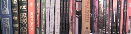 os livros me olham desconfiados da estante
