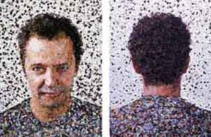vik muniz auto-retrato