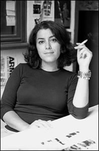 Marjane Satrapi: parisiense, chique e fumante convicta