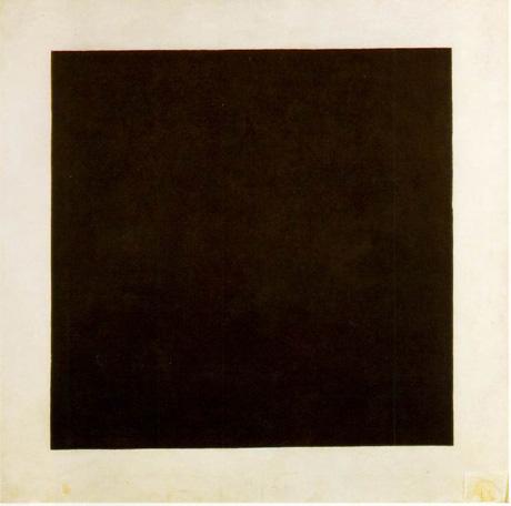 Malievitch: Quadro Negro, de 1915
