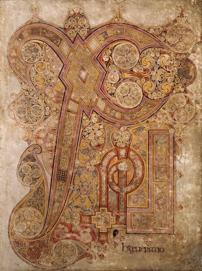 Chi-Rho, do livro de Kells (o próprio)