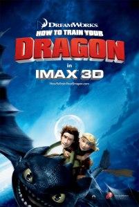 Vikings e dragões em 3D