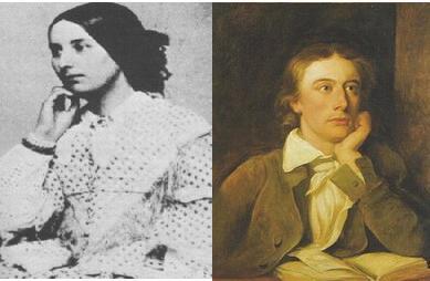 Fanny Brawne & John Keats