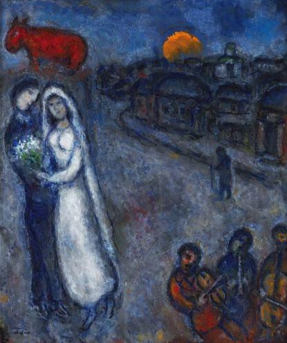 Chagall: Les Maries Aux Trois Musici