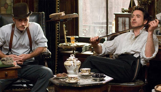 Watson e Holmes pouco convencionais