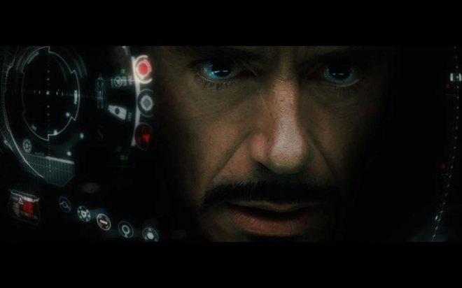 Stark e sua armadura veloz