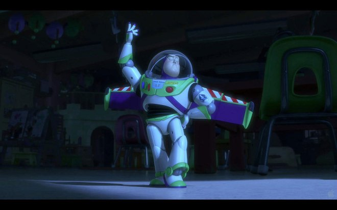 Toy Story 3 - Buzzlightyear no modo español