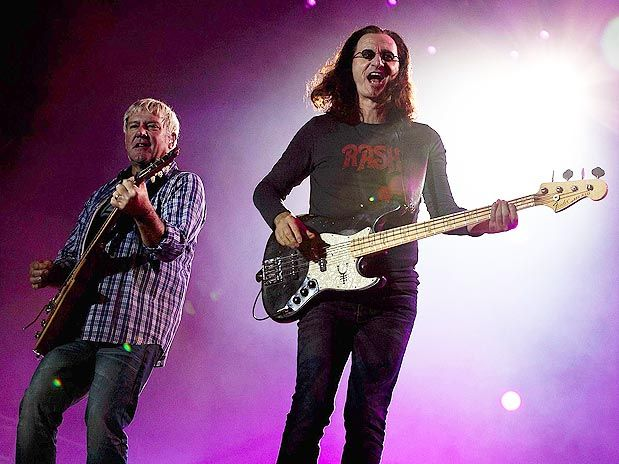 Alex Lifeson e Geddy Lee