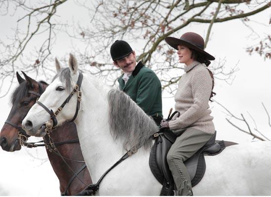 paixão pela cavalaria