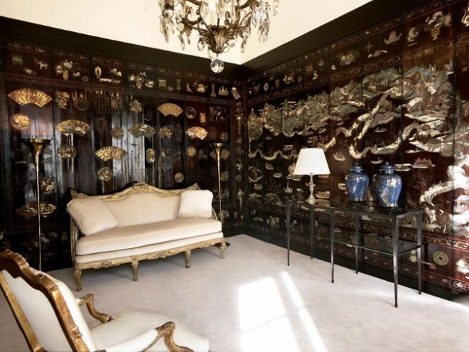 O apartamento de Chanel e seus painéis de Coromandel