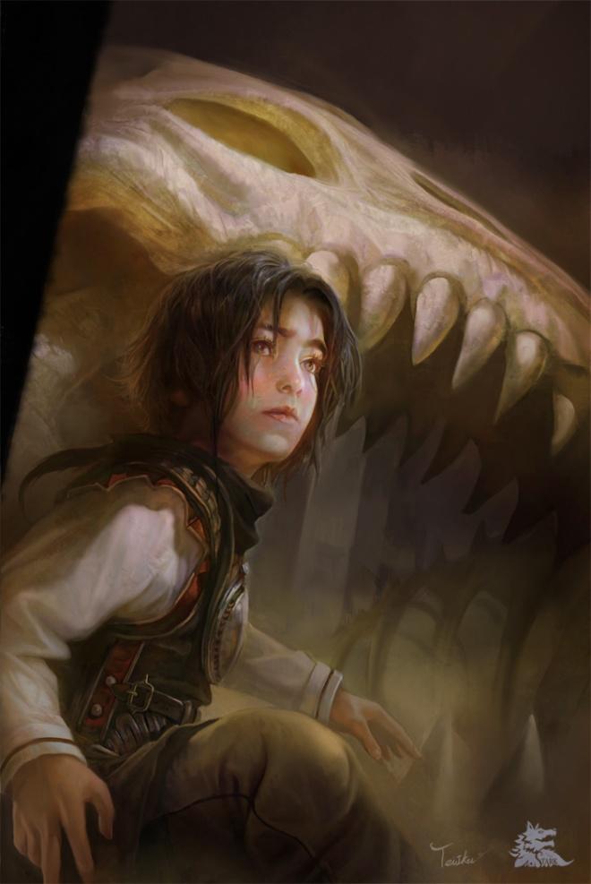 Arya Stark by Teilku (deviantart.com)