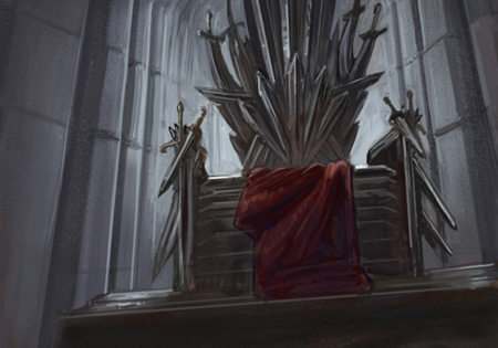 Iron Throne by thegryph (deviantart.com)