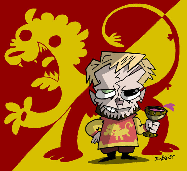 aSoIaF Cartoonimen- Tyrion Lannister by NewtMan (Deviantart.com)