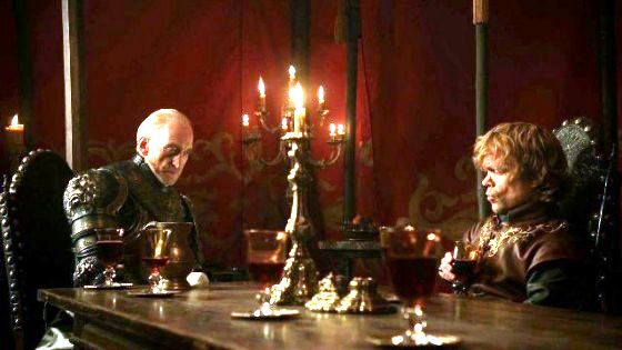 HBO Game of Thrones: Tywin and Tyrion