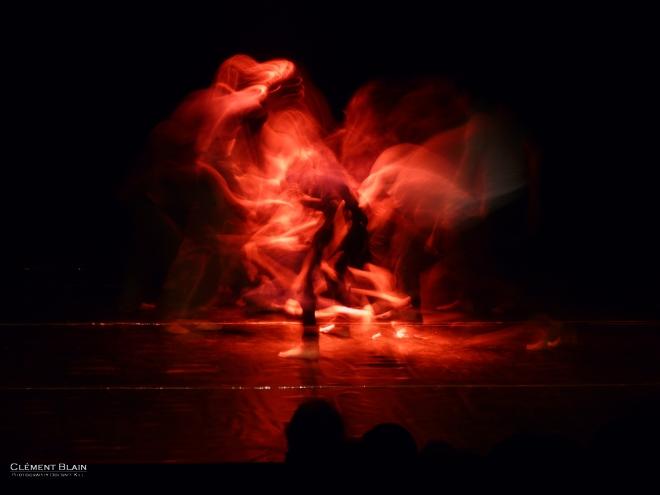 Clément Blain: Dancer on fire