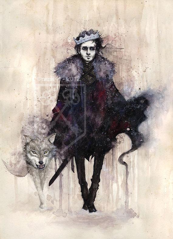 Robb Stark, by Vettelys (Etsy.com)