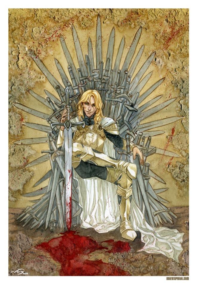 Jaime Lannister by Noiry (Deviantart.com)