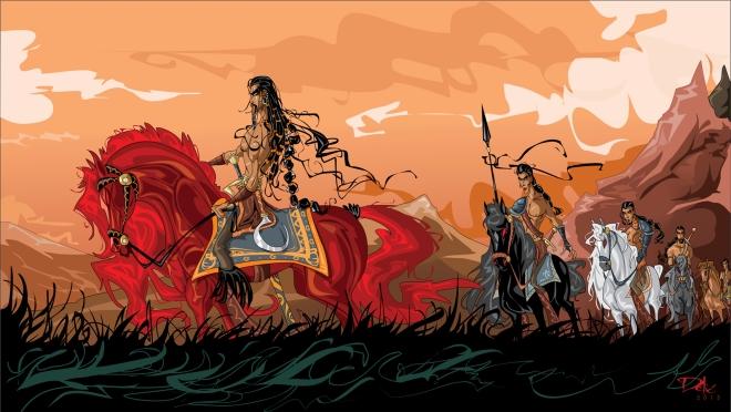 Khal Drogo_by_dejan_delic (Deviantart.com)