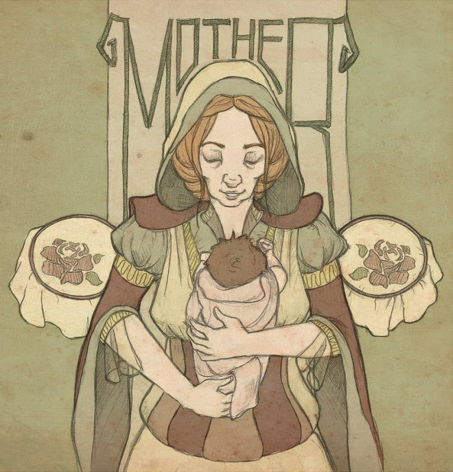 The Mother by mustamirri (Deviantart.com)