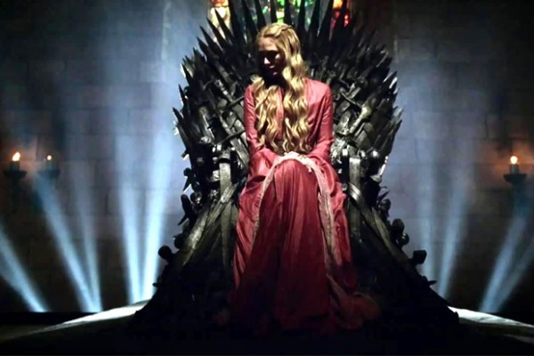 Cersei Lannister (Lena Headey). HBO Game of Thrones.