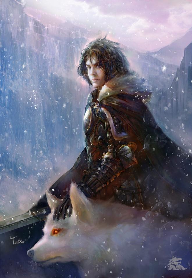 Jon Snow by TeiIku (Deviantart.com)