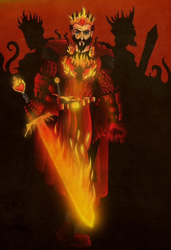 King Stannis Baratheon by acazigot (Deviantart.com)