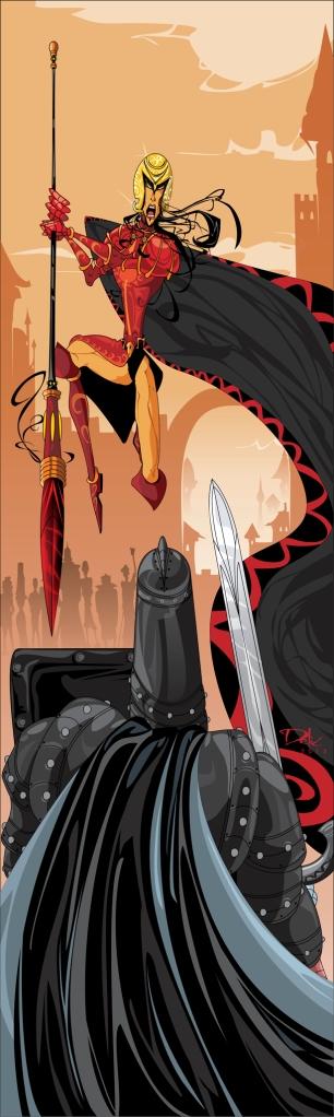 The Red Viper vs The Mountain by dejan-delic (Deviantart.com)