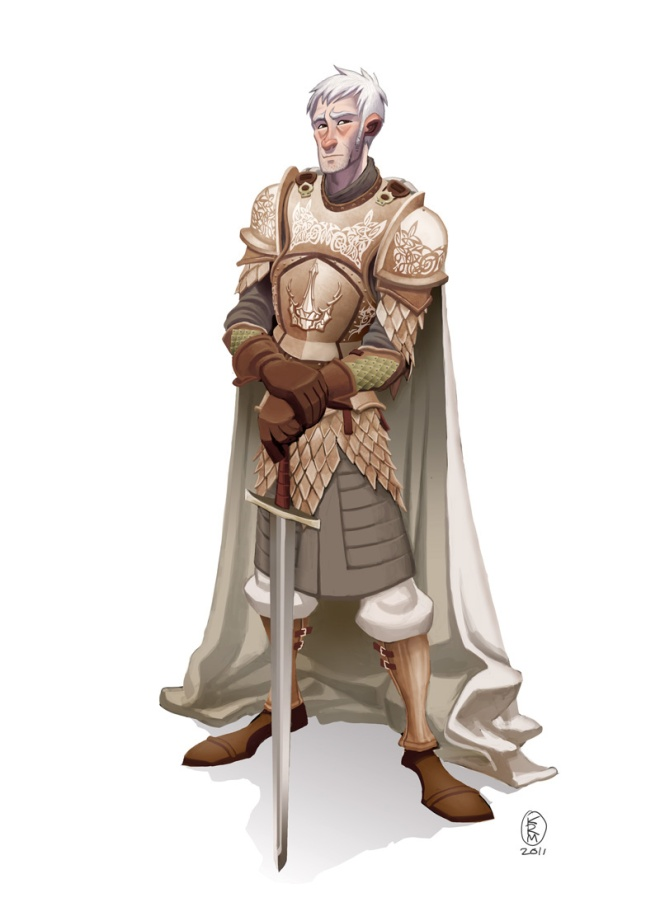 Barristan the Bold by javawombat