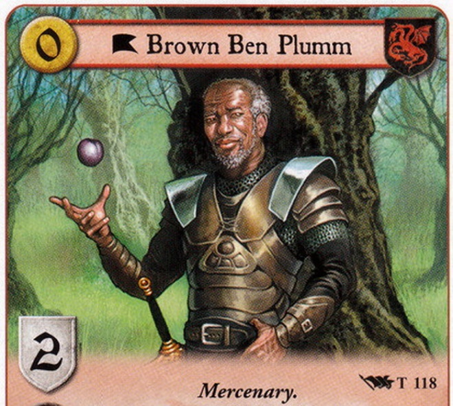 "Part of A Game of Thrones collectible card game, illustrated by Patrick McEvoy. Copyrighted work by Fantasy Flight Games (FFG). Posted in the ""Card Guide Wiki""."