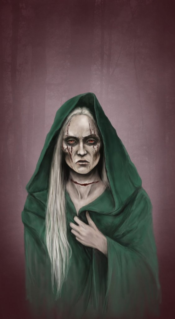 Catelyn Tully after her death: Lady Stoneheart, by Denkata5698©