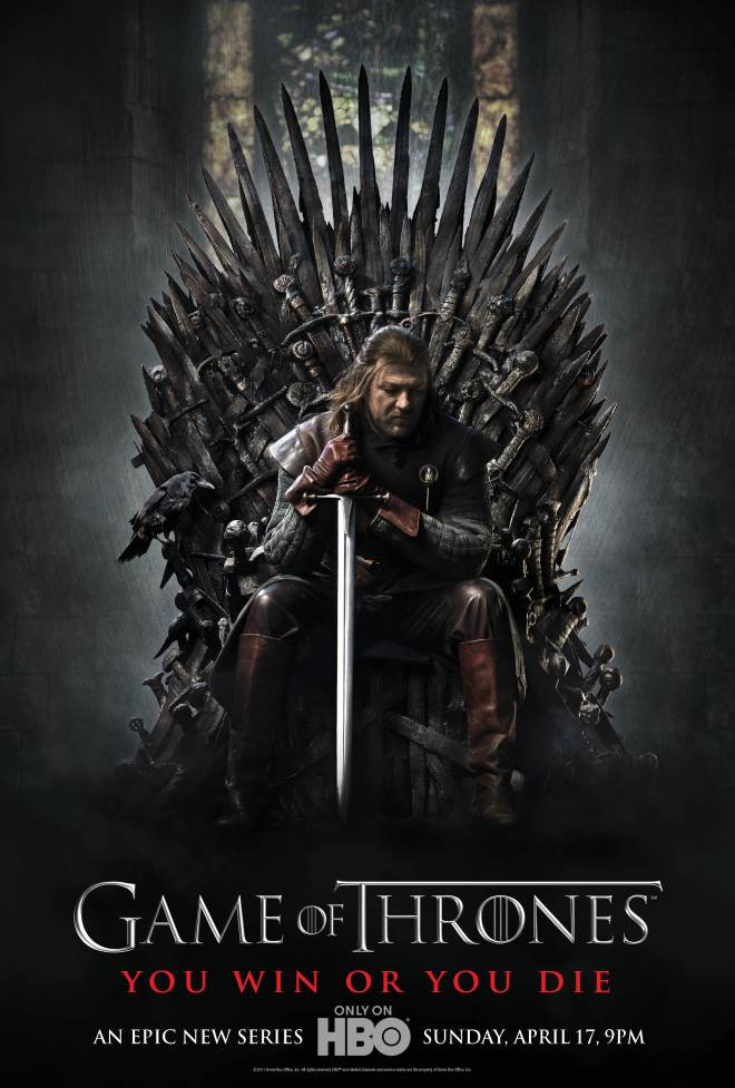HBO Game of Thrones (poster da primeira temporada)