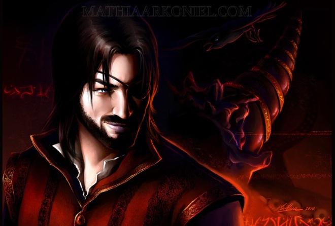 Euron Greyjoy and his dragon horn - by Mathia Arkoniel ©