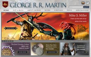http://www.georgerrmartin.com/