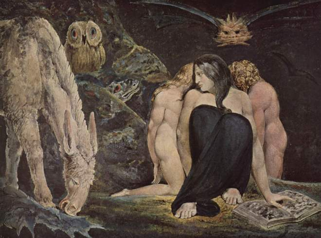 William Blake: The Night of Enitharmon's Joy, 1795.
