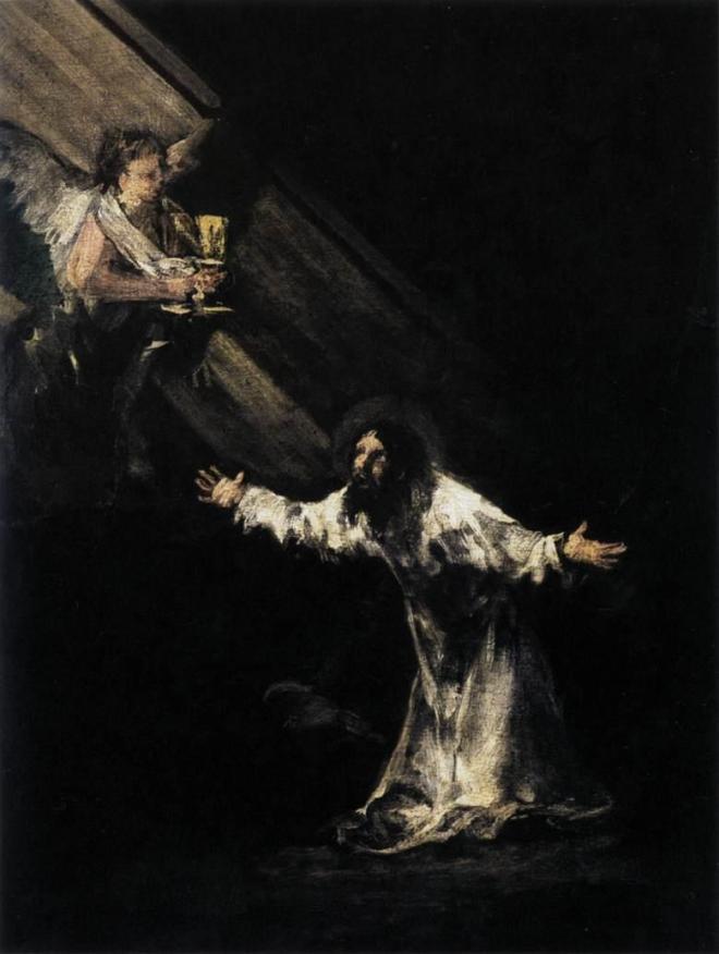 Francisco de Goya y Lucientes: A Agonia no Jardim (Cristo no Monte das Oliveiras)