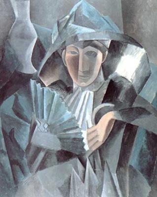 Dama com leque (1909)