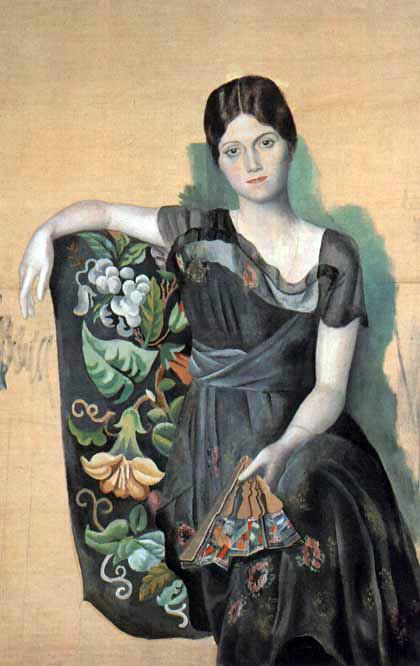 Retrato de Olga na Poltrona