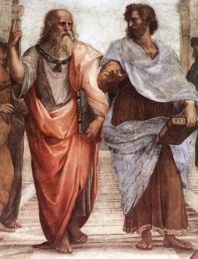 Rafael:  A Escola de Atenas (afresco)