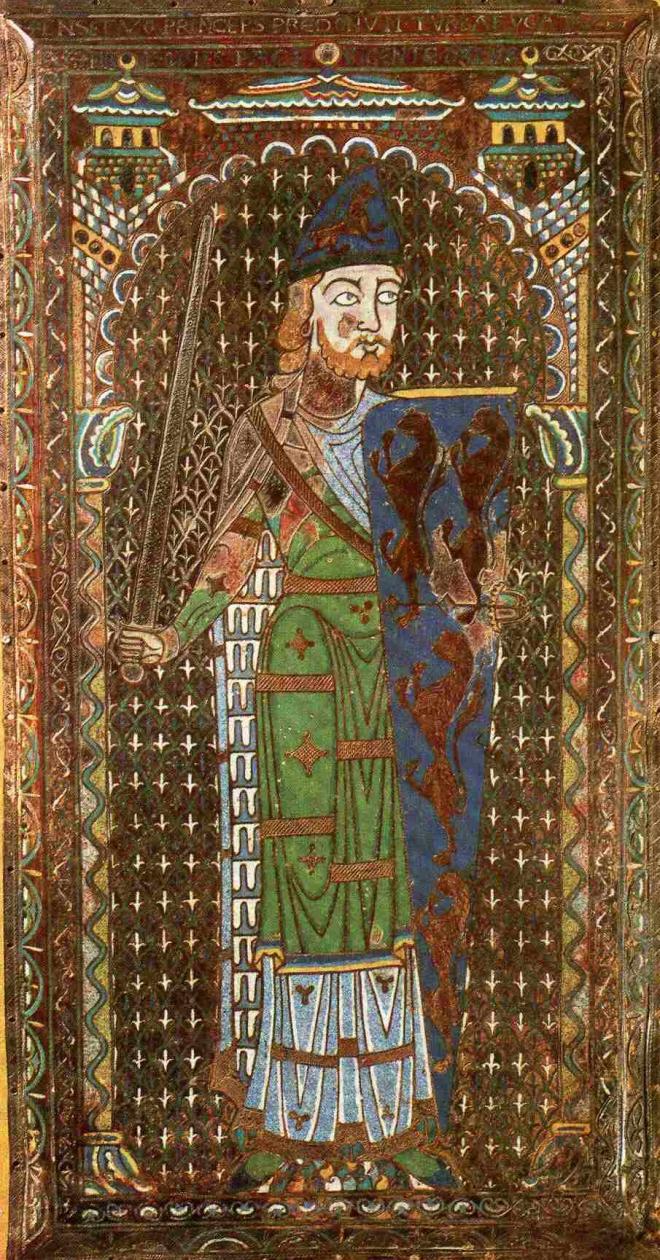 Godofredo V, Conde de Anjou, Maine e Mortain. Duque dos Normandos