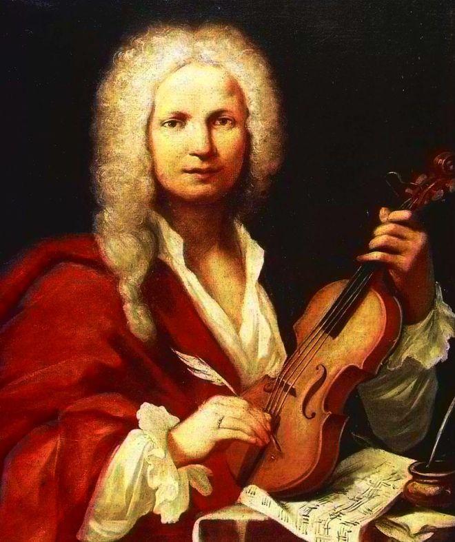 Ritratto presunto di Antonio Vivaldi (anonimo, XVIII sec.) conservato nel Museo internazionale e biblioteca della musica di Bologna