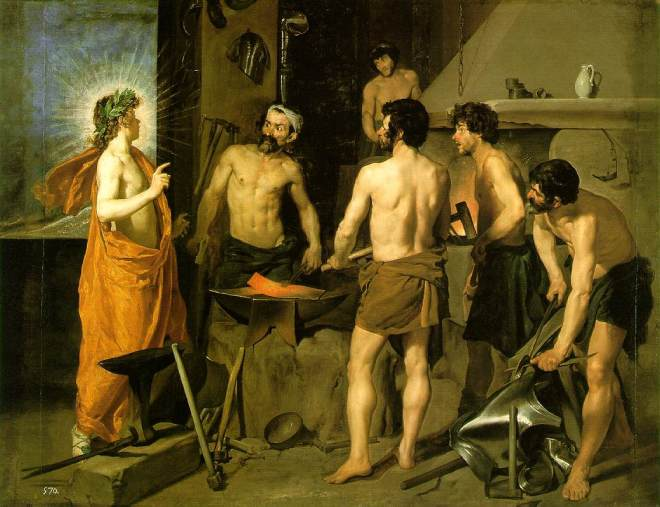 Velazquez: A Forja de Vulcano (Museo Del Prado, Madrid)