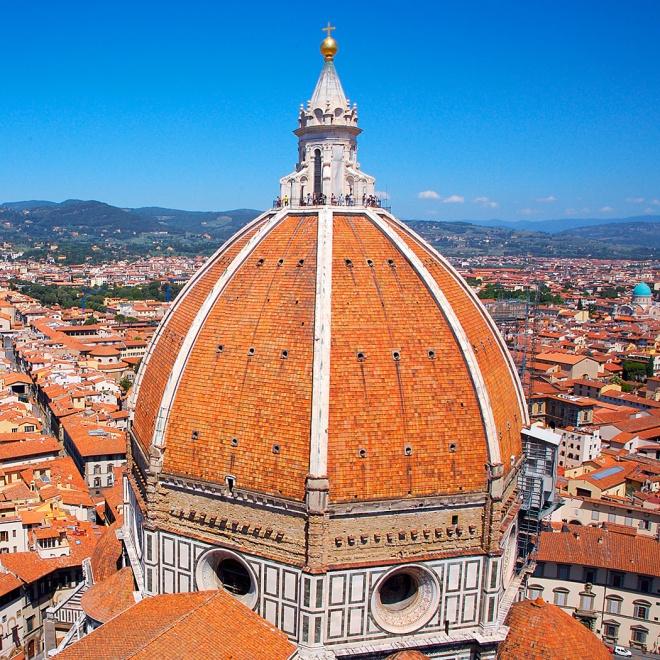 De Brunelleschi, Domo da Catedral de Santa Maria del Fiore, Florença